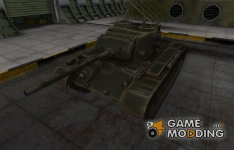 Шкурка для американского танка M26 Pershing for World of Tanks