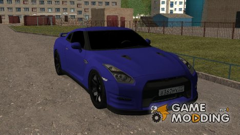 Nissan GT-R R35 Dima GORDEY for GTA San Andreas