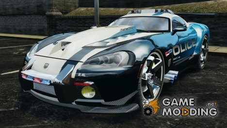 Dodge Viper SRT-10 ACR ELITE POLICE для GTA 4