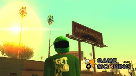 """GTA IV Helmet """"Sprunk"""" for GTA San Andreas"""
