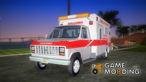 Ford Econoline 1986 Ambulance for GTA Vice City