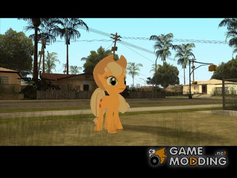 Applejack (My Little Pony) for GTA San Andreas