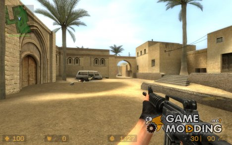 M4A1 for Ak47 for Counter-Strike Source