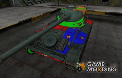 Качественный скин для AMX 13 90 for World of Tanks