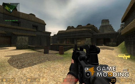 M4A1 Masterkey on SlaYeR5530 Animations для Counter-Strike Source
