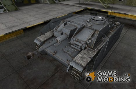 Ремоделинг для танка StuG III для World of Tanks
