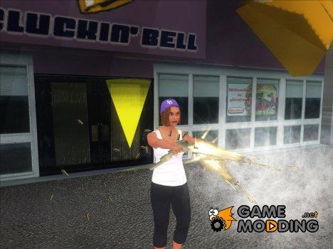 Ballas Girl 1(GTA V) для GTA San Andreas