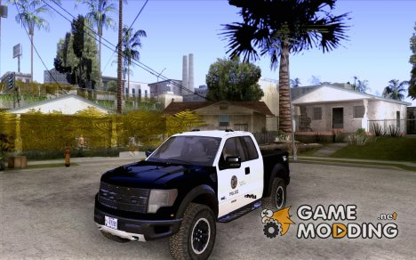Ford Raptor Police for GTA San Andreas