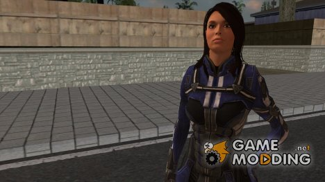 Mass Effect 3 Ashley Williams Ashes DLC Armor для GTA San Andreas