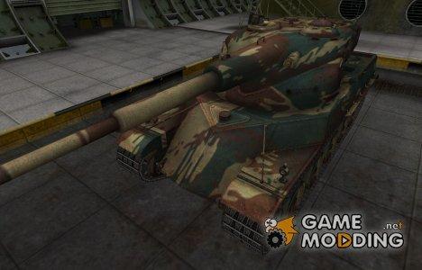 Французкий новый скин для AMX 50 120 for World of Tanks