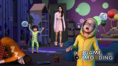 Одежда для малышей for Sims 4