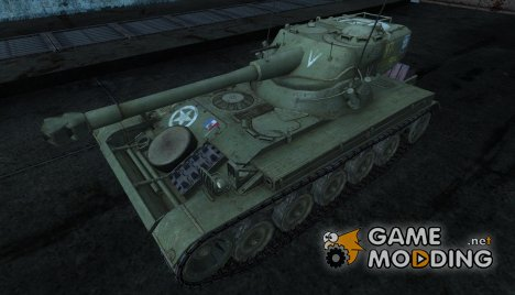 Шкурка для AMX 13 75 №28 for World of Tanks