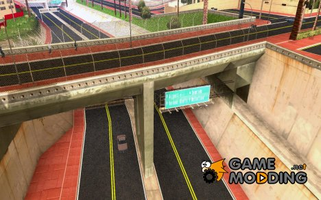 Новые Текстуры Лос-Сантоса for GTA San Andreas