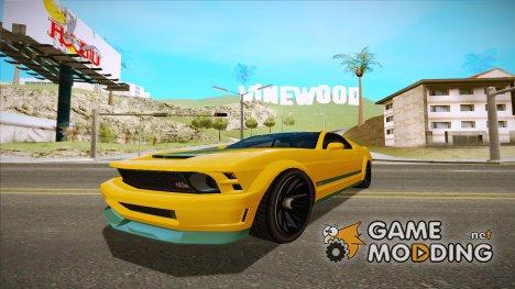 GTA 5 Vapid Dominator IVF для GTA San Andreas