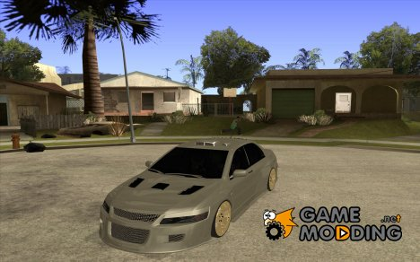 Mitsubishi Lancer Evo 9 Drift style для GTA San Andreas