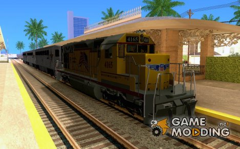 SD 40 Union Pacific Building America для GTA San Andreas