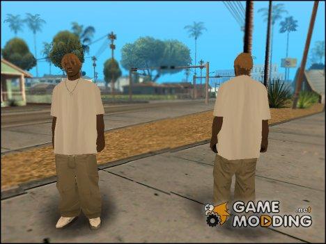 Dreadlocks v.5 для GTA San Andreas