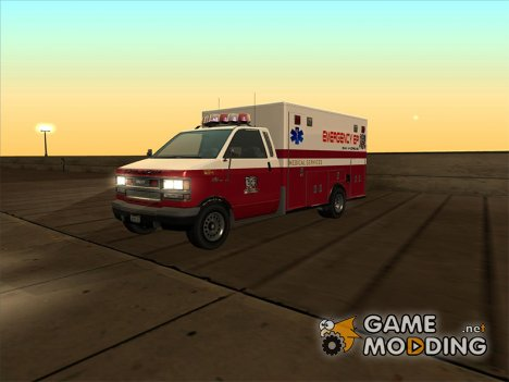Ambulance Brute (из GTA 4) for GTA San Andreas