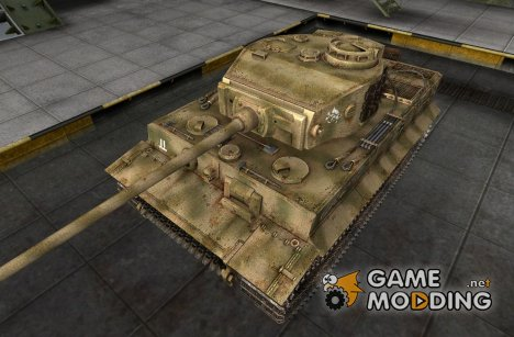 Шкурка для Pz VI Tiger for World of Tanks