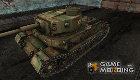 Шкурка для Pz. VI Tiger (P) for World of Tanks