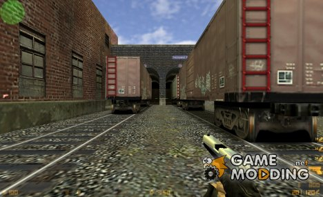 Chrome Glock v2 Shiny for Counter-Strike 1.6