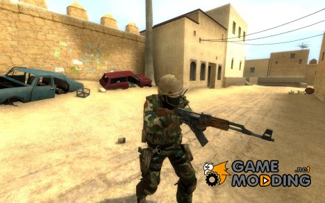 US Soldier Counter-Terrorist для Counter-Strike Source