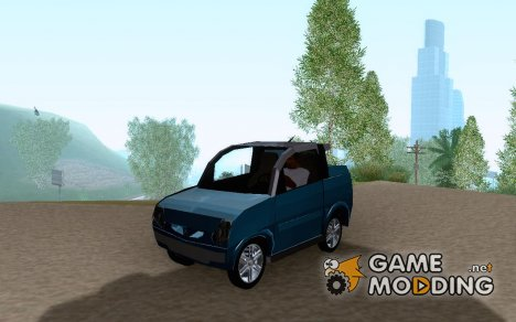 Aixam Scouty Microcar 50cc for GTA San Andreas