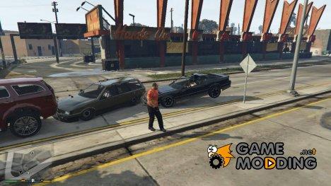 Аркадное вождение NPC для GTA 5