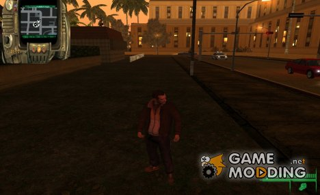 Follaut 3 HUD для GTA San Andreas