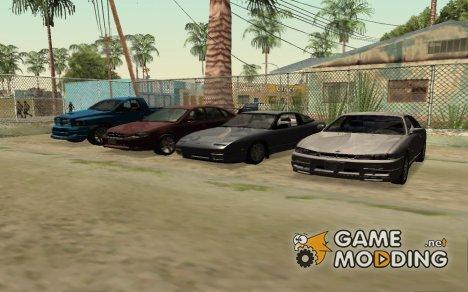 Пак авто, самолётов, вертолётов, вело-мото транспорта для GTA San Andreas