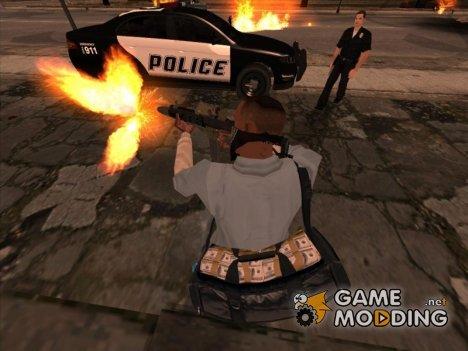 Сумка с деньгами для GTA San Andreas