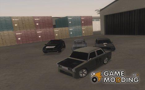 Пак русских машин для GTA San Andreas