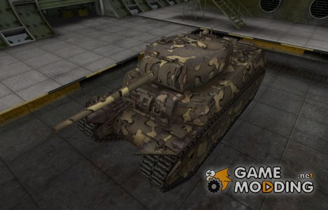 Простой скин M6 для World of Tanks