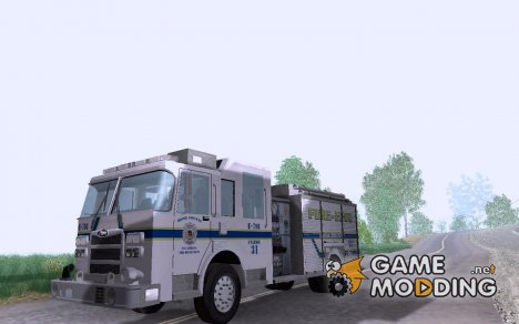Pierce Pumpers. B.C.F.D. FIRE-EMS for GTA San Andreas