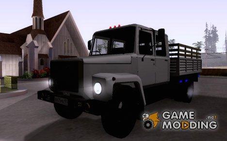 ГАЗ 3309 Двухрядный for GTA San Andreas