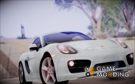 Porsche Cayman S 2014 for GTA San Andreas