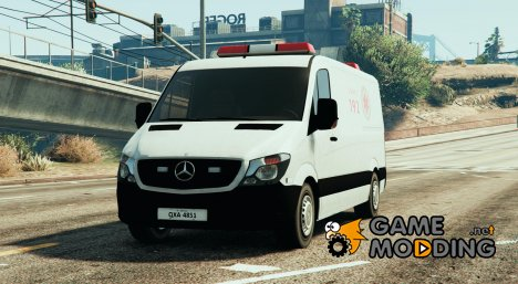 Mercedes-Benz Sprinter SAMU for GTA 5