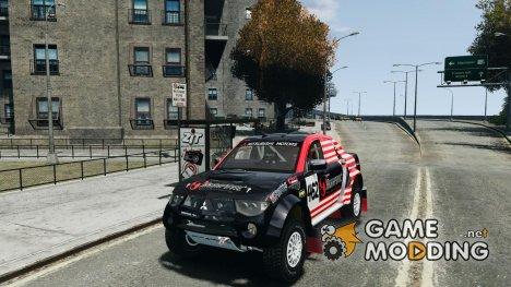 Mitsubishi L200 Rally для GTA 4
