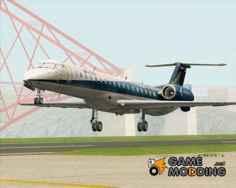 Embraer ERJ-145 Embraer House Livery for GTA San Andreas
