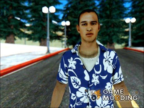 Donald Santora Skin для GTA San Andreas