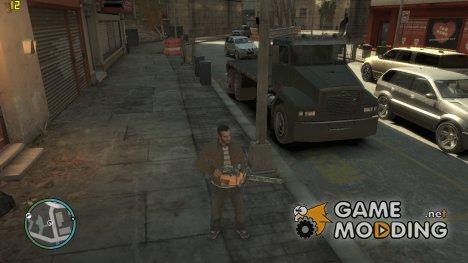 Бензопила for GTA 4