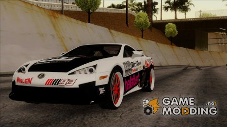 Lexus LFA 2010 Itasha for GTA San Andreas