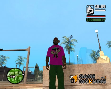 Гангстерская футболка для GTA San Andreas