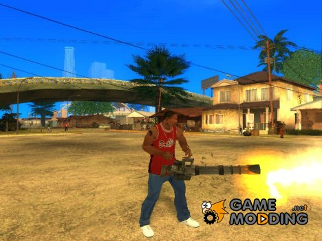 Красивый Пак Оружия for GTA San Andreas