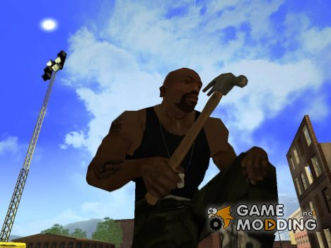 Молоток из GTA 5 для GTA San Andreas