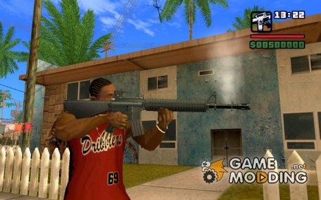 М16 проработанная for GTA San Andreas