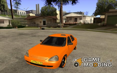 ВАЗ Лада Приора Такси for GTA San Andreas