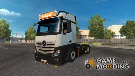 Mercedes Actros MP4 LaG Logistic Skin for Euro Truck Simulator 2