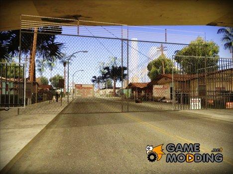 Безопасный Гроув Стрит HQ for GTA San Andreas