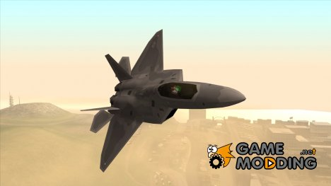 Lockheed Martin F-22 Raptor for GTA San Andreas